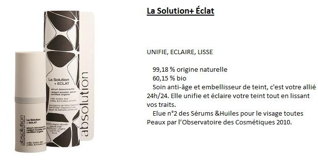 solution eclat