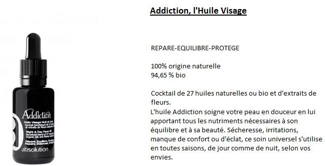 huile addiction